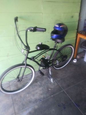 80cc motor bike turns on and all but dont know how to ride it thats why im selling its bin sitting thier for Sale in Los Angeles, CA
