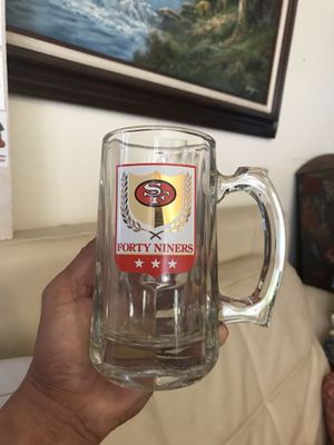 7 PIECES OF VINTAGE 49ers DRINKING GLASS COLLECTION for Sale in Walnut Creek, CA