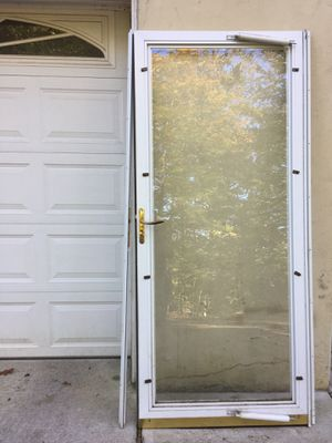White Storm Door for Sale in Berkeley Heights, NJ