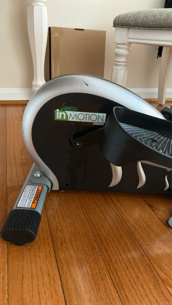 InMotion under desk exercise bike