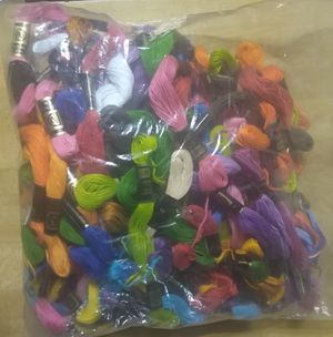 Appx 100 Skeins of Embroidery Floss for Sale in Lakeland, FL