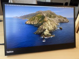 """Lenovo ThinkVision M14 14"""" Full HD 1920x1080 IPS Monitor - 300 Nit 6ms 2xUSB Type-C Ports Widescreen Backlit LED LCD Mobile Portable Display for Sale in Gaithersburg, MD"""
