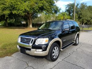 2008 FORD EXPLORER EDDIE BAUER 3RD ROW SEAT 140K for Sale in Tampa, FL