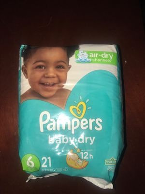 Pampers size 6 diapers for Sale in Whittier, CA