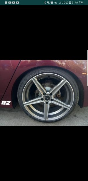 Advanti racing cammino wheels and lexani tires for Sale in East Rochester, NY