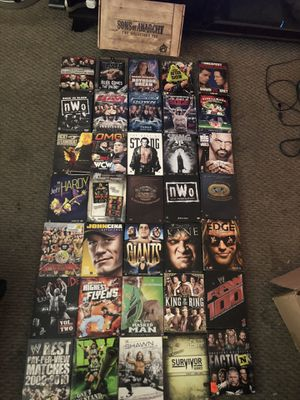 WWE classic dvd and sons of anarchy the collectors set for Sale in Davie, FL