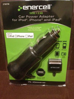 Car adapter iPod, iPhone, & iPad for $20 for Sale in Dallas, TX
