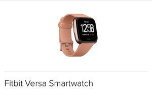 Fitbit Versa Smartwatch for Sale in North Bethesda, MD