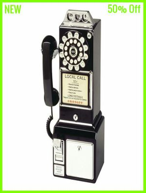Antique Vintage 1950s Style Classic Rotary Dial Pay Phone Booth for Sale in Columbia, SC