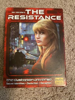 The Resistance Board Game for Sale in Denver, CO