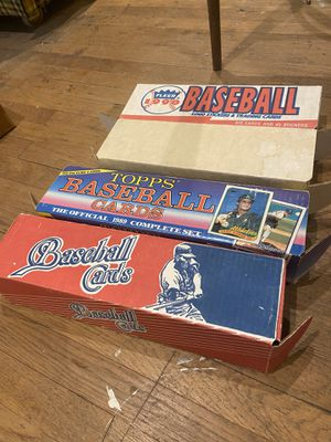 Baseball Cards (4 boxes) for Sale in Pomona, CA