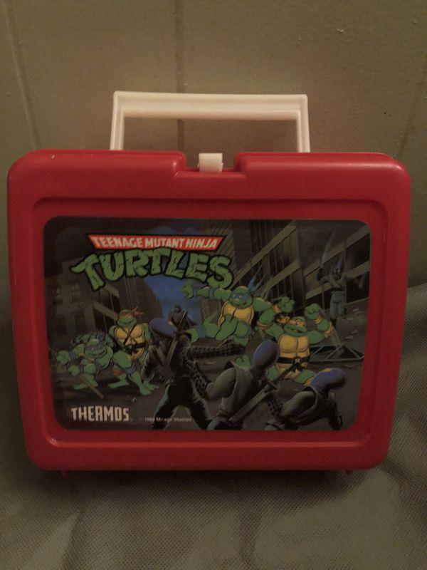 Vintage Teenage Mutant Ninja Turtles Lunchbox