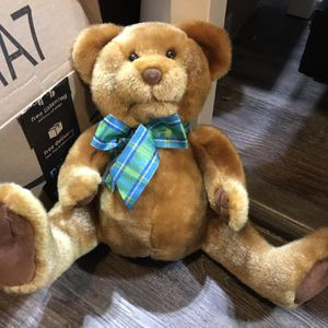 Vintage Touch My Heart Theodore Bear Does Not Work for Sale in Elma, WA