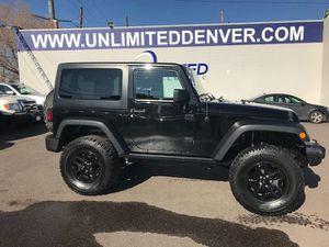 2017 Jeep Wrangler for Sale in Denver, CO