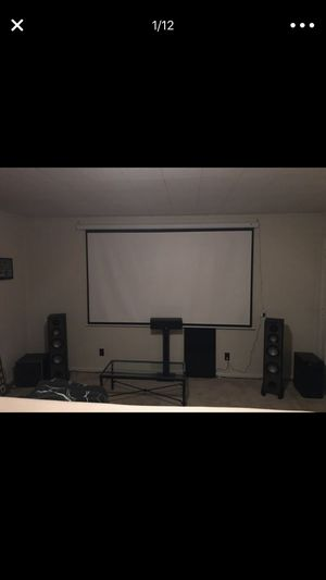 Complete home theater 9.2 with Dolby atmos surround system!!! for Sale in Raleigh, NC