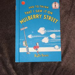 Dr. Suess' And To Think That I Saw It On Mulberry Street for Sale in Georgetown,  TX