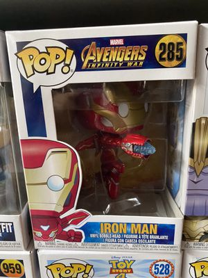Marvel Avengers Infinity War Iron Man #285 Funko POP for Sale in Bellflower, CA