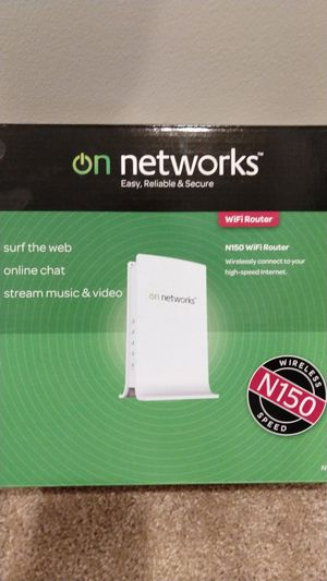 On networks N150 wifi router flashed with OpenWRT $5 for Sale in Kirkland, WA