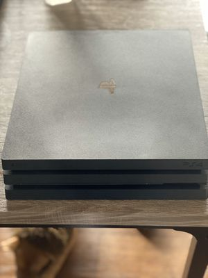 PS4 PRO Console With Ps4 Controller with games and Gaming headset for Sale in Anaheim, CA
