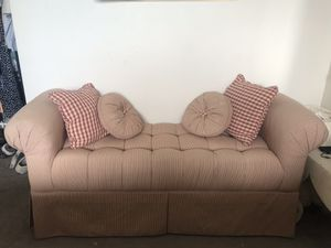 Custom French Tufted Upholstered Bench for Sale in Missoula, MT