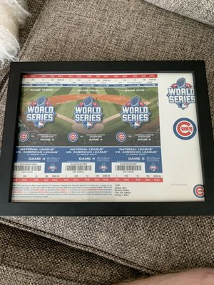 Chicago Cubs World Series Tickets 2015 for Sale in Morton Grove, IL