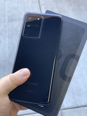 Galaxy S20 Ultra 5G! 128 GB Black (Financing Available) for Sale in Rialto, CA