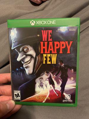 We happy few Xbox one for Sale in Lake Stevens, WA