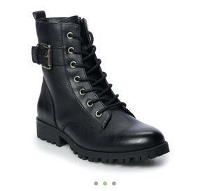 Brand new black combat boots size 8 for Sale in Hercules, CA
