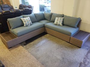 New outdoor patio furniture sectional sofa tax included free delivery for Sale in Hayward, CA