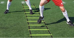 Brand new Super Flat 10 Rungs Adjustable Speed Agility Ladder with Free Carry Bag, 13' for Sale in Dallas, TX