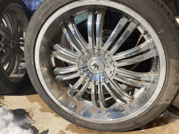 Hankook 22 Inch Tires And Rims