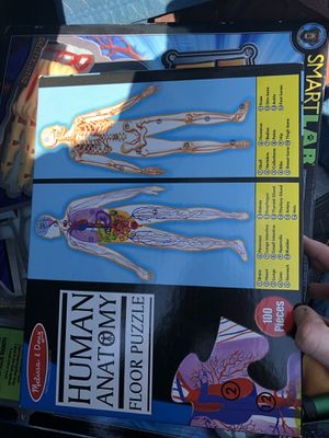 Anatomy puzzle, game, and maps! for Sale in Louisville, KY
