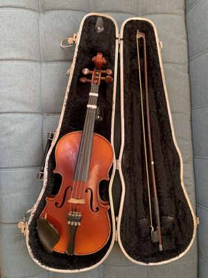 Complete Violin w/ Case Jacques LeClerc Instruments d'Artists Annee for Sale in Claremont, CA