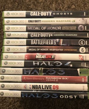 Xbox 360 games for Sale in Kent, WA