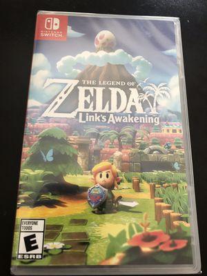 The legend of Zelda link awakening Nintendo switch for Sale in Oakland, CA