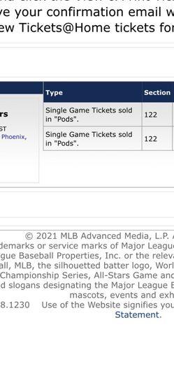 Dodgers vs White Sox Spring Training for Sale in Santa Ana,  CA