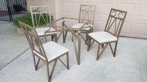 Table w 4 Chairs & Bakers/Wine Rack for Sale in Las Vegas, NV