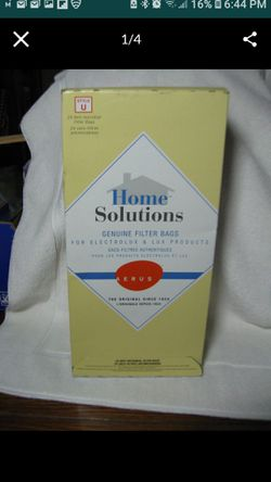 Electrolux Vacuum Bags Style U PACK of 24 NEW IN BOX Will SHIP !! for Sale in San Diego,  CA