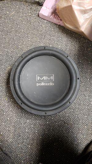 Polk Audio 12 inch sub for Sale in Nashville, TN