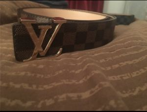 Brown and Gold LV Belt for Sale in Carrollton, TX