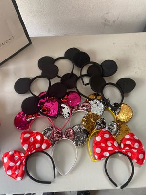 Mickey and Minnie ears. for Sale in Irvine, CA