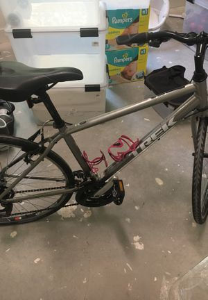 Trek road bike with pump for Sale in Dallas, TX