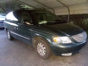 2001 Chrysler Town and Country LXI lether seats 3.8l engine mechanic special for Sale in Danville, VA