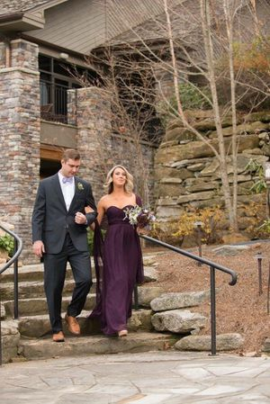 Dark plum / purple bridesmaid or formal dress for Sale in Charlotte, NC