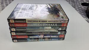 War ps2 games Bundle for Sale in Weston, FL
