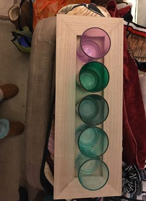 Seaglass's on wooden try for Sale in Holliston, MA
