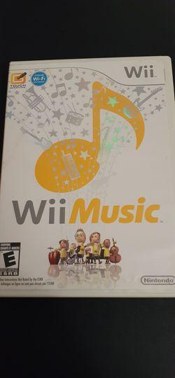 Wii MUSIC (Nintendo Wii + Wii U) for Sale in Lewisville,  TX