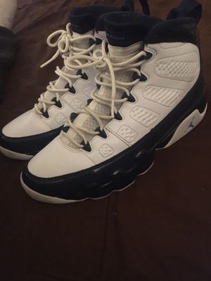 Jordan 9 Pearl Blue size 9.5 for Sale in Chino, CA