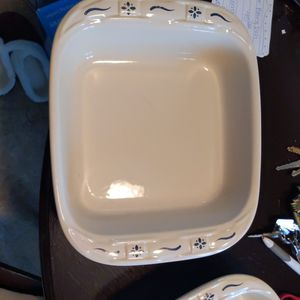 Longaberger Pottery Baking Dishes for Sale in Neenah, WI