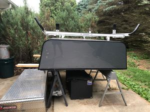 A.R.E truck cap w/ side boxes and ladder rack for Sale in Elburn, IL